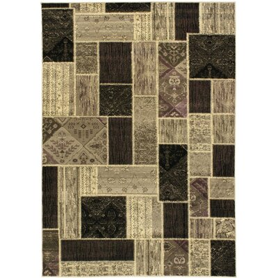 Summer Medley Light Grey Open Field Area Rug Rug Size: 47 x 65