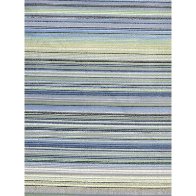 Summer Chroma Missonia Blue Abstract Area Rug Rug Size: 55 x 79