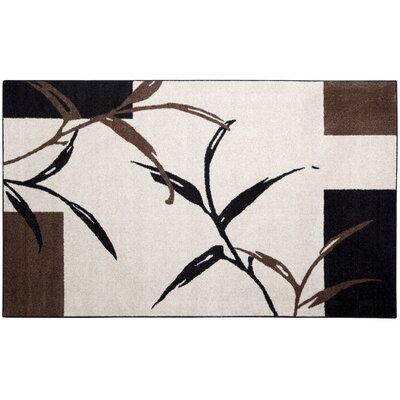 Kazumi Black Area Rug Rug Size: Rectangle 5 x 8