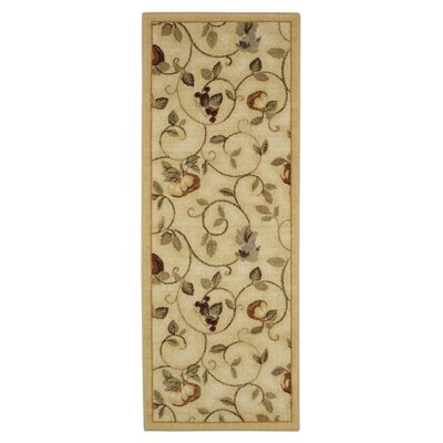 Miracle Fruit Wheat Area Rug Rug Size: Runner 11 x 5