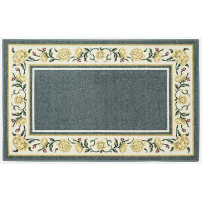 Salina Blue/White Area Rug Rug Size: Rectangle 33 x 54