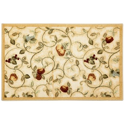 Miracle Fruit Wheat Area Rug Rug Size: 26 x 310