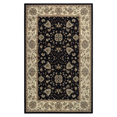 Amani Black Area Rug Rug Size: Rectangle 8 x 10