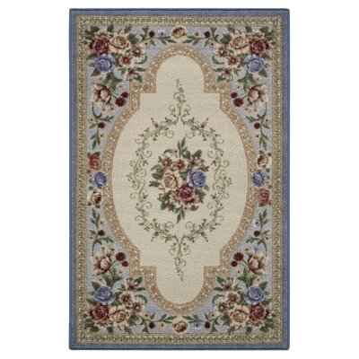 Nevaeh Lapis Area Rug Rug Size: 1'8
