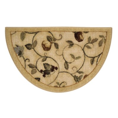 Miracle Fruit Wheat Area Rug Rug Size: 5 x 8