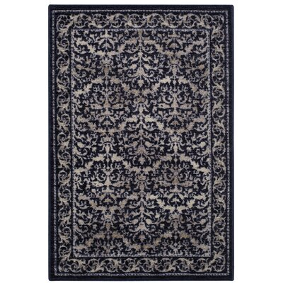 Gustavo Blue/Beige Area Rug Rug Size: Rectangle 18 x 210