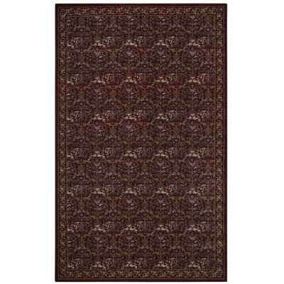 Gustavo Garnet Area Rug Rug Size: Rectangle 5 x 8