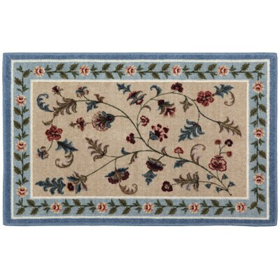 Farrah Slate/Blue Area Rug Rug Size: Rectangle 8 x 10