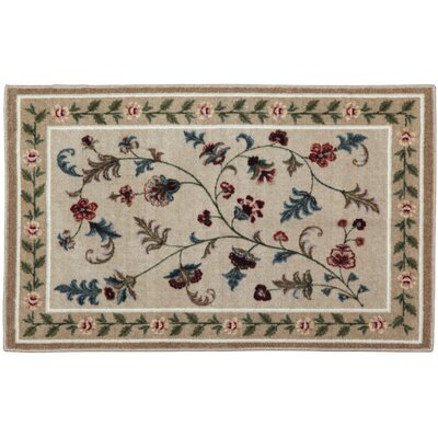 Farrah Toffee Area Rug Rug Size: Rectangle 33 x 54