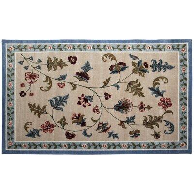 Farrah Slate/Blue Area Rug Rug Size: 5 x 8