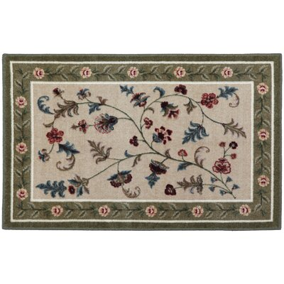 Farrah Celery Area Rug Rug Size: Rectangle 8 x 10