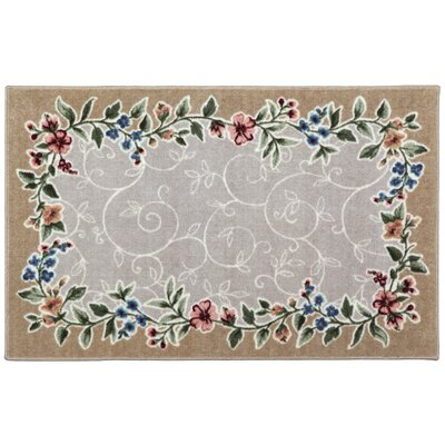 Sevilla Heather/Beige Area Rugs Rug Size: 33 x 54