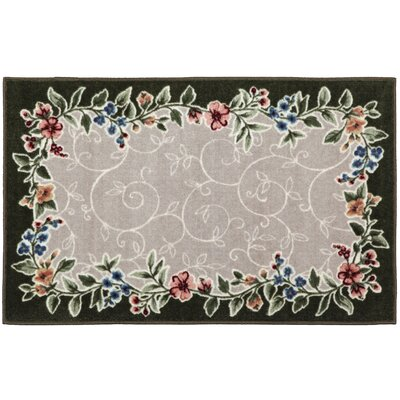 Sevilla Juniper/Beige Area Rug Rug Size: Rectangle 33 x 54