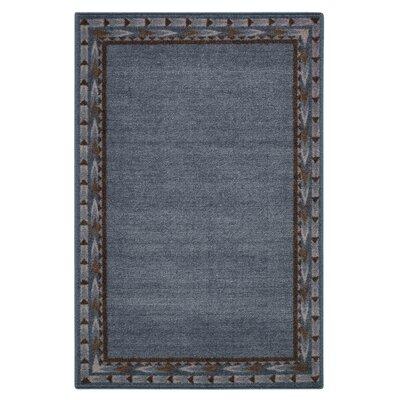 Pondera Blue Area Rug Rug Size: 26 x 310