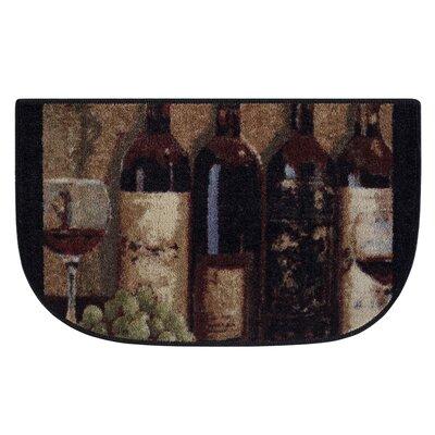 Wine Boutique Burgundy Area Rug Rug Size: 1'7 x 2'8