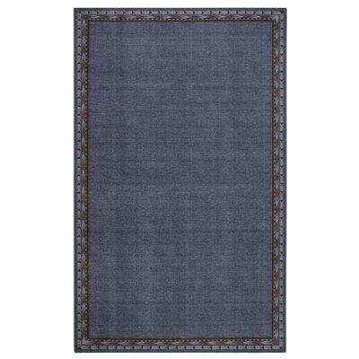 Pondera Blue Area Rug Rug Size: 33 x 54