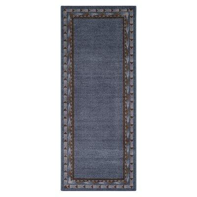 Pondera Blue Area Rug Rug Size: Runner 11 x 5