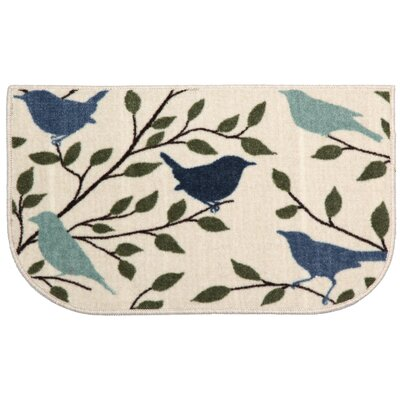 Bird Silhouette Area Rug