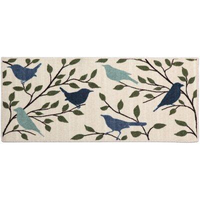 Arthur Bird Silhouette Area Rug Rug Size: 18 x 38