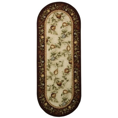 Splendid Fruit Area Rug Rug Size: Rectangle 18 x 5