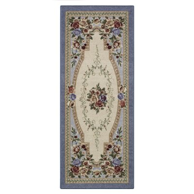 Nevaeh Lapis Area Rug Rug Size: Runner 11 x 5