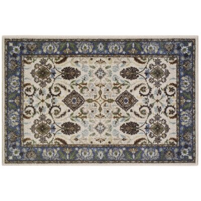 Tarsus Blue/Beige Area Rug Rug Size: Rectangle 26 x 310