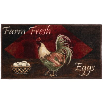Egg Basket Area Rug Rug Size: Half Circle 18 x 210