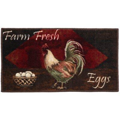 Egg Basket Area Rug Rug Size: 18 x 210