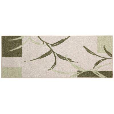 Kazumi Sage/Cream Area Rug Rug Size: 34 x 5