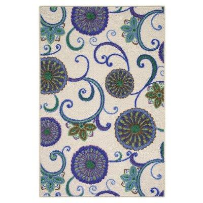 Blue Area Rug Rug Size: 26 x 310