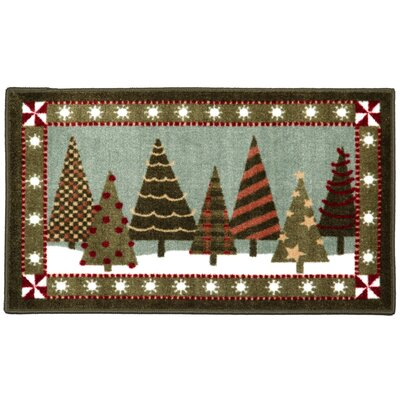 Trendy Trees Novelty Rug Rug Size: 26 x 310