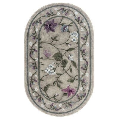 Butterfly Opal Area Rug Rug Size: Oval 18 x 210