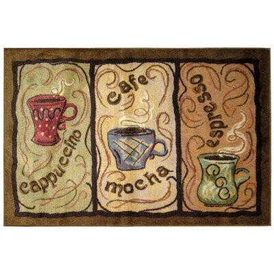 Coffee Rug Rug Size: 26 x 310
