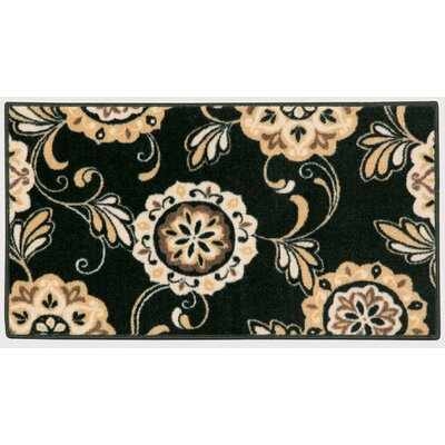 Pippin Black Area Rug Rug Size: 18 x 210