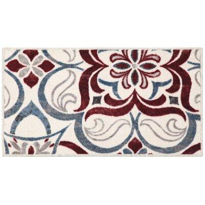 Tuscan Tile Area Rug Rug Size: 18 x 210