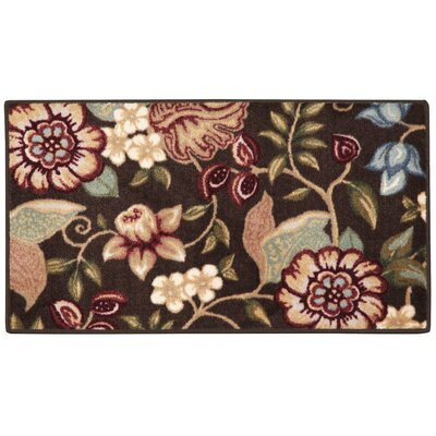Anniston Chocolate/ Moss Area Rug Rug Size: 18 x 210