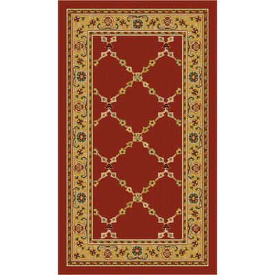 Premier Red Brick Area Rug Rug Size: 18 x 210