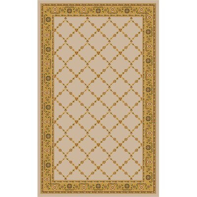 Premier Natural Beige Area Rug Rug Size: Rectangle 33 x 54