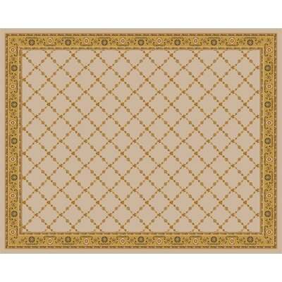 Premier Natural Beige Area Rug Rug Size: Rectangle 8 x 10