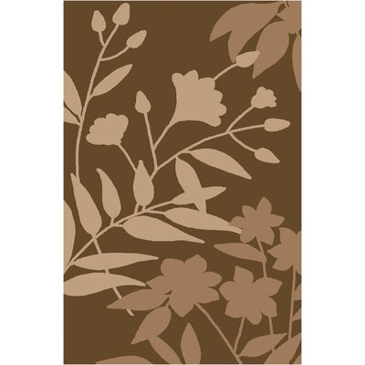 Stonebriar Brown/Tan Area Rug Rug Size: 26 x 310