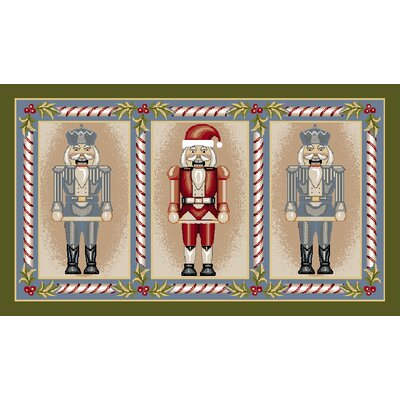 Nutcracker Suite Novelty Rug Rug Size: 18 x 210