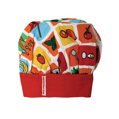 Eat Your Fruits and Veggies Chefs Hat 109