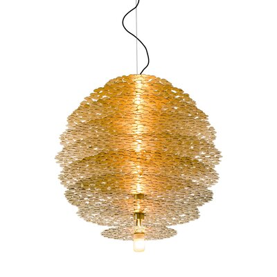 Tresor 9-Light Globe Pendant Finish: Gold
