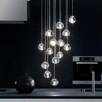 Mizu 15-Light Cascade Pendant