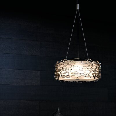 Glamour 3-Light Pendant Finish: Nickel