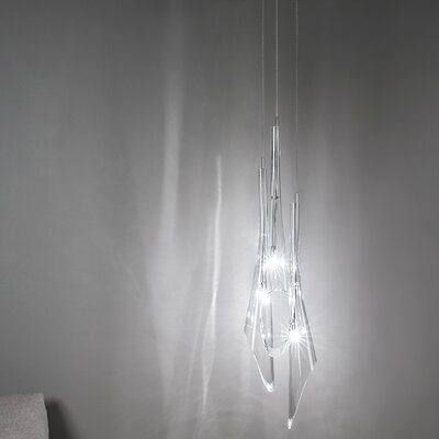 Calle 3-Light Pendant