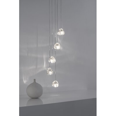 Mizu 5-Light Cluster Pendant