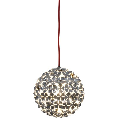 OrtenZia Mini 1-Light Pendant Finish: Gold Plated