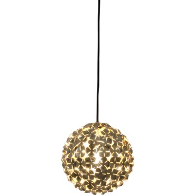 Ortenzia 1-Light Pendant Finish: Gold