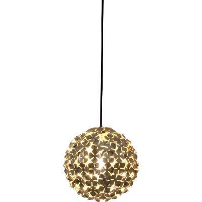 Ortenzia 1-Light Pendant Finish: Gold